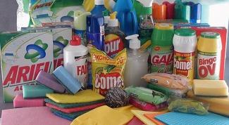 Правила безопасного обращения со средствами бытовой химии