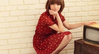 Платье в горошек: классика или винтаж