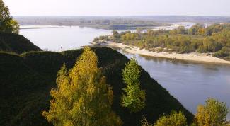 Истоки реки Оки