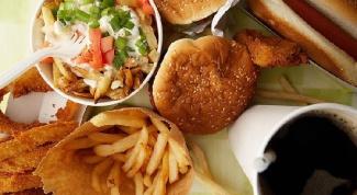 Фаст-фуд - прямой путь к ожирению
