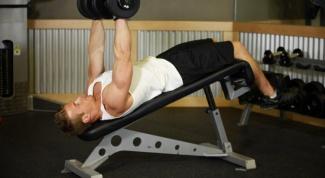 Упражнения с гантелями для тренировки грудных мышц