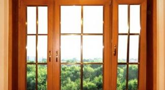 Как поставить деревянные окна