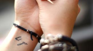 Как выбрать татуировку для нанесения на запястье