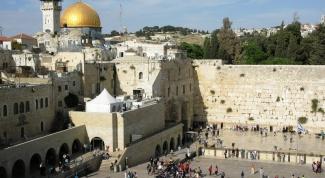 Отдых в Израиле: посещаем святые места