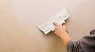 Грунтовка и шпатлевка стен