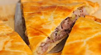 Мясной пирог: вкусно и сытно