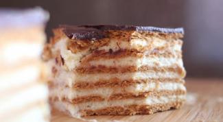 Рецепты приготовления быстрых тортов из печенья