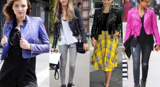 What to wear with leather jacket