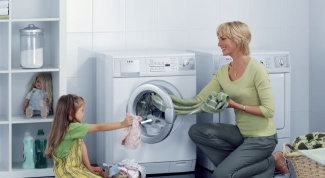 How to choose a washing machine for washing children's clothes