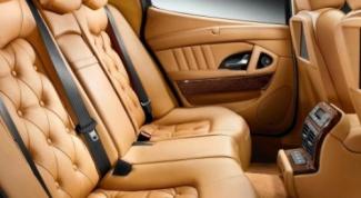 Кожаный салон в автомобиле: преимущества и недостатки