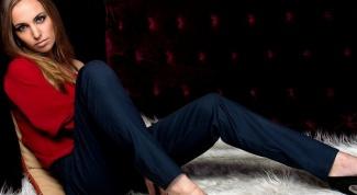 С чем носить брюки с завышенной талией