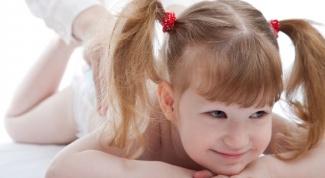 Как делать массаж ребенку