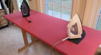 Как обновить гладильную доску