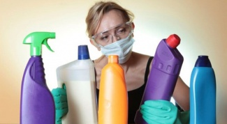 Rules of storage of disinfectants