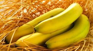 Бананы в диетологии