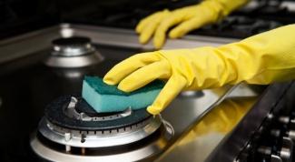 Как очистить плиту от пригоревшей грязи