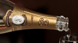 Как производят шампанское Кристалл