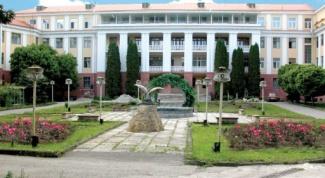 Medical sanatorium in the North Caucasus