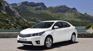 Toyota Corolla: особенности выбора