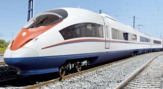 Как узнать расписание поездов Сапсан