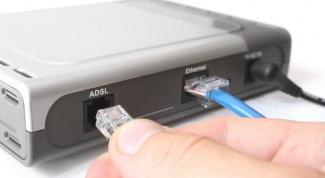 Принцип действия ADSL-подключения