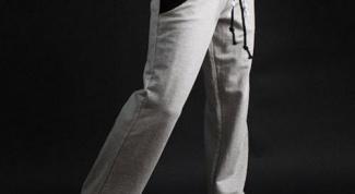 Как выбрать спортивные мужские штаны