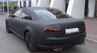 Минусы и плюсы покраски автомобиля в черный матовый цвет
