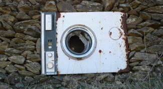 Как утилизировать стиральную машину