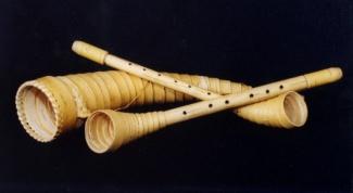 Народные духовые музыкальные инструменты