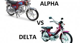 Выбираем мопед: Alpha или Delta?
