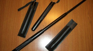 How to choose a telescopic bludgeon