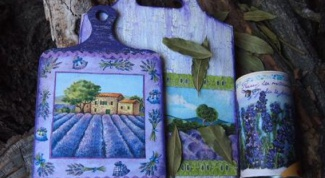 How to decorate the kitchen interior in Provence style with their hands