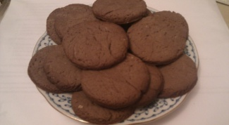 Печенье шоколадное быстро и вкусно