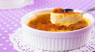 Как приготовить йогуртовый крем - брюле