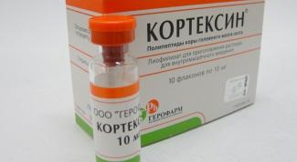 «Кортексин»: инструкция, показания, цена