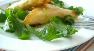 Треугольные пирожки с капустой