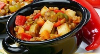 Вкусное овощное рагу в мультиварке