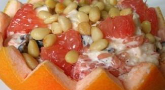 Грейпфрутовый салат