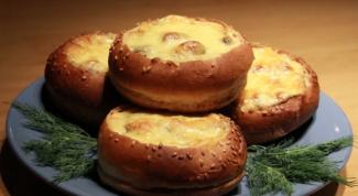 Закуска в булочках