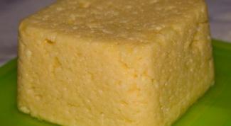 How to make homemade fat-free cheese
