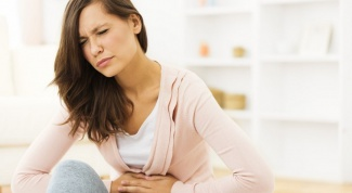 How to understand that a burst ovarian cyst