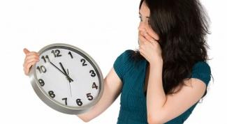 Как перестать опаздывать на встречи