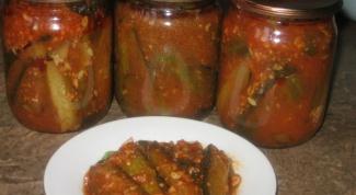 Как приготовить огурцы в томатном соусе