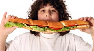 Как посадить ребенка на диету