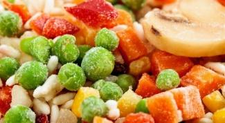 Как замораживать овощи и фрукты