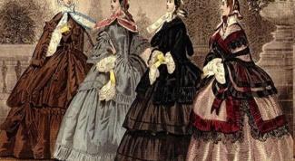 Russian fashion nineteenth century