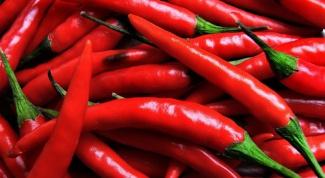 Красный перец от целлюлита