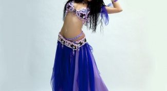 How to make a costume for belly dancing at home