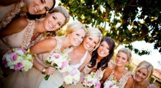 Как выбрать платья подружек невесты