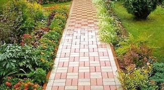 Как выбрать садовую плитку